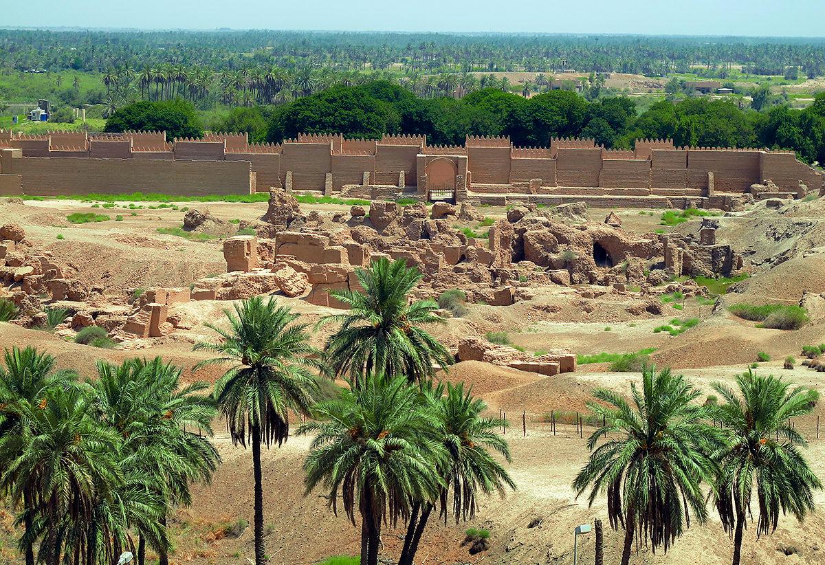 Руины Вавилона, Ирак