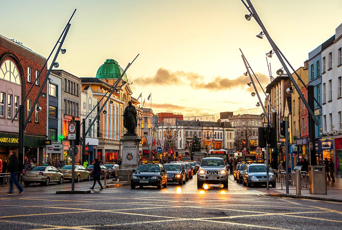 По улицам культурного города, Корк