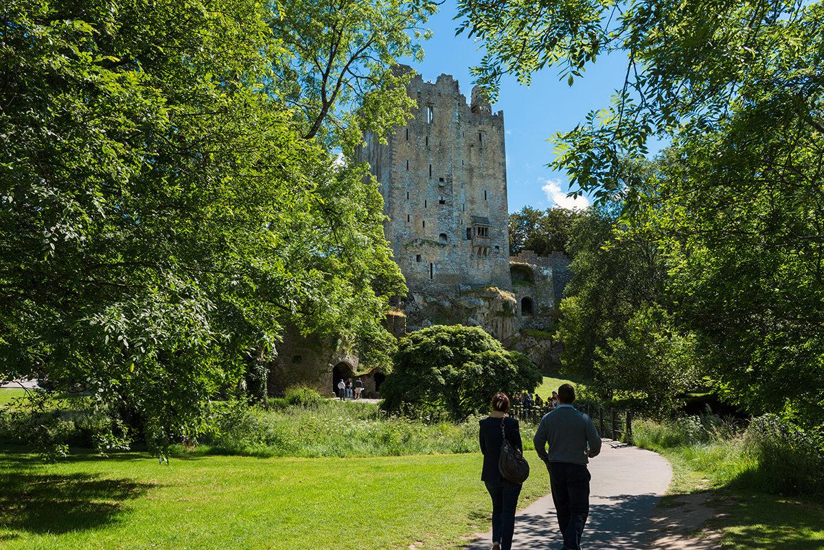 Дорога к замку Бларни