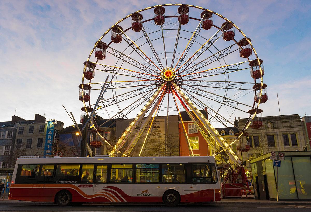 Автобусное сообщение в Корке