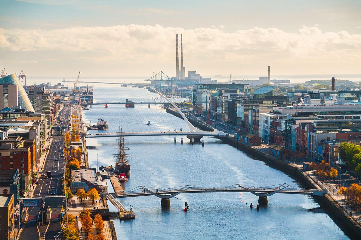 Дублин, панорама