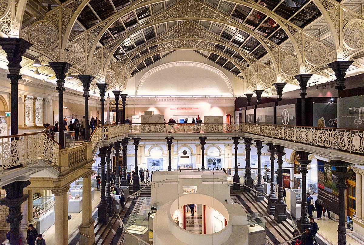 Национальный музей Дублина, интерьер