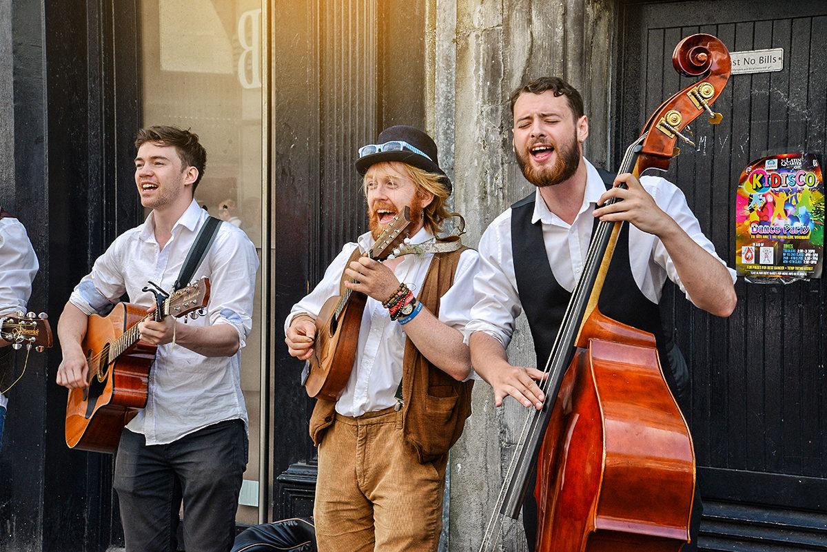 Участники музыкального фестиваля