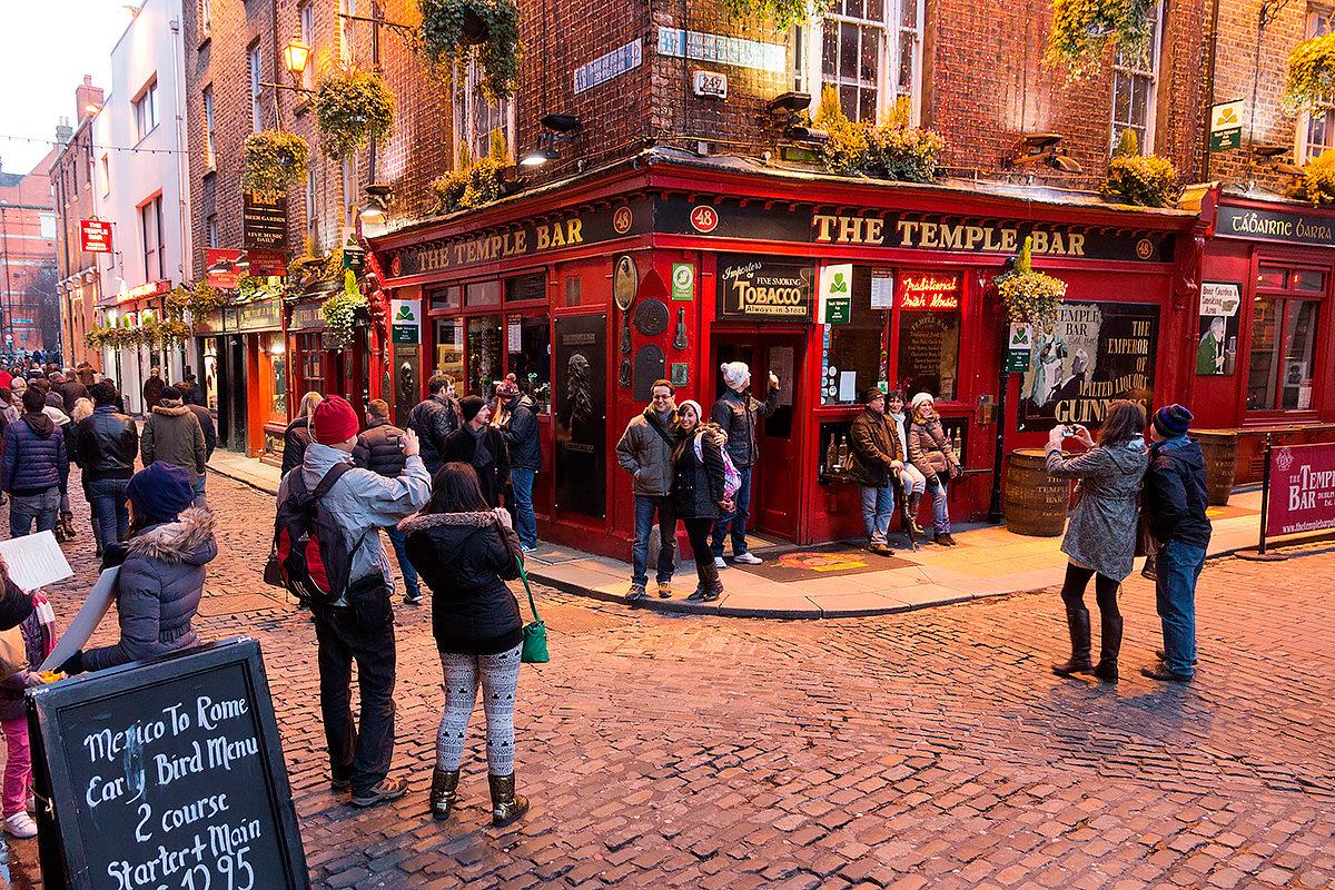 Темпл Бар в Дублине