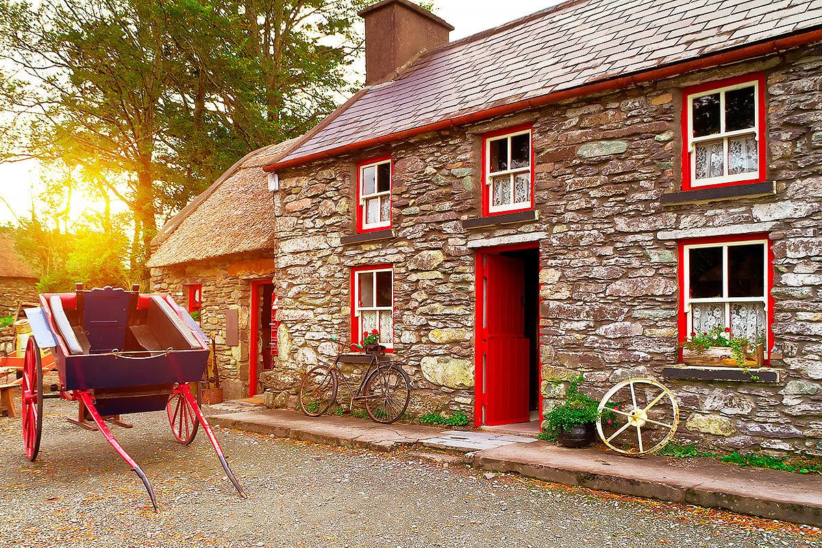 Уют ирландской деревни