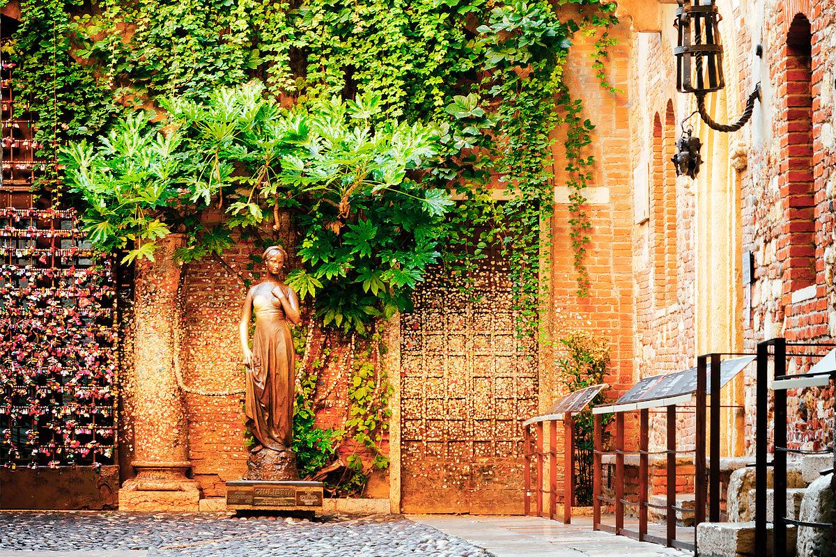 Дом Джульетты, внутренний дворик