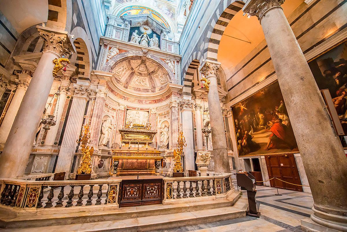 Кафедральный собор Вознесения святой Марии, интерьер