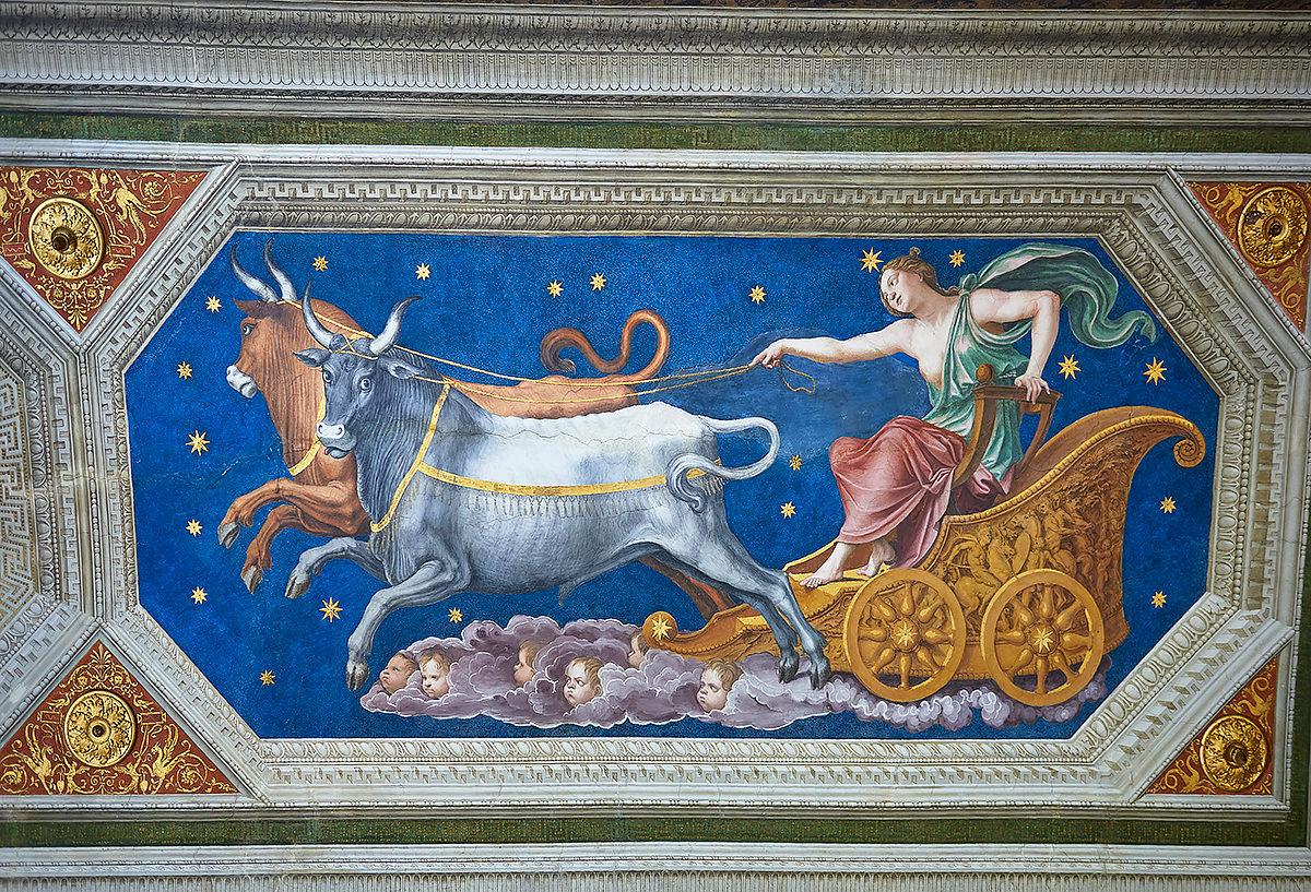 Аллегорическая картина, Вилла Фарнезина