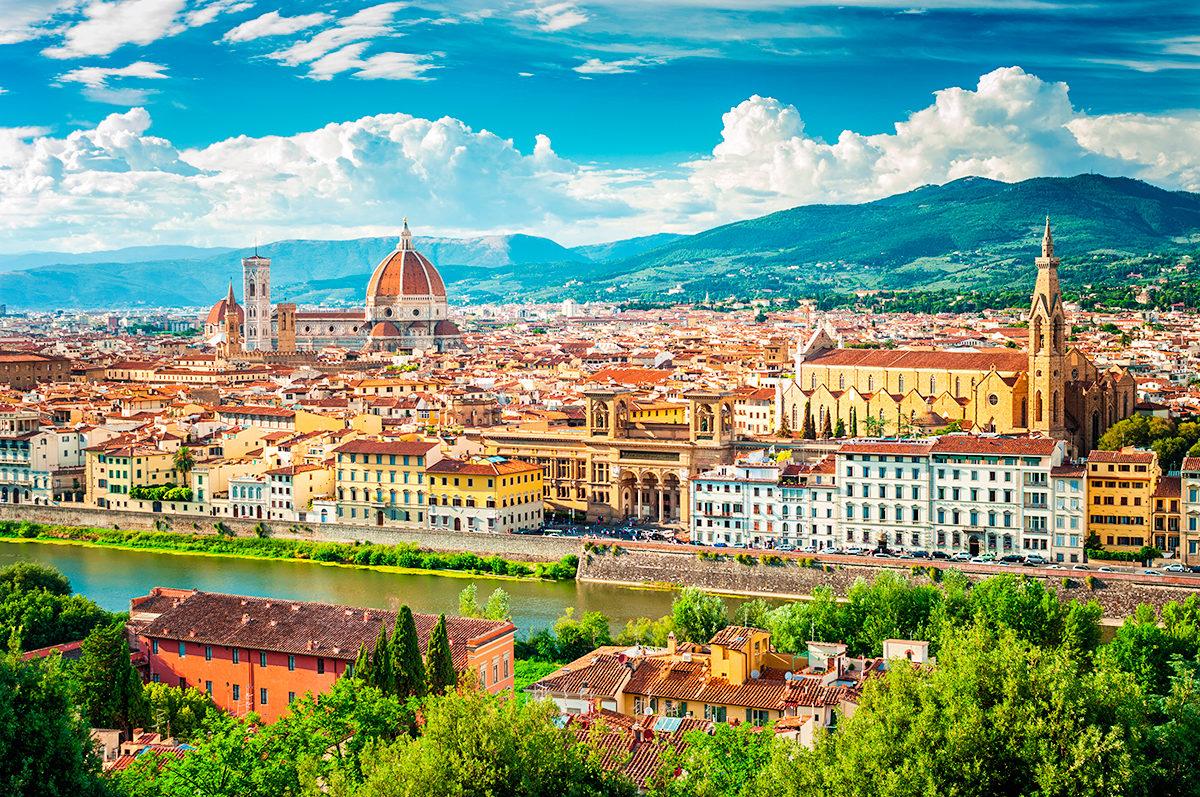 Флоренция, панорама