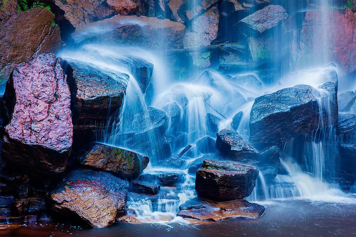 Водопад Попоквил, нац. парк Бокор