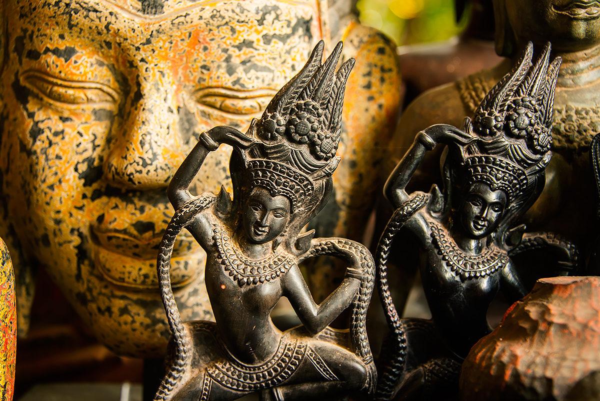 Традиционные сувенирные фигурки, Камбоджа