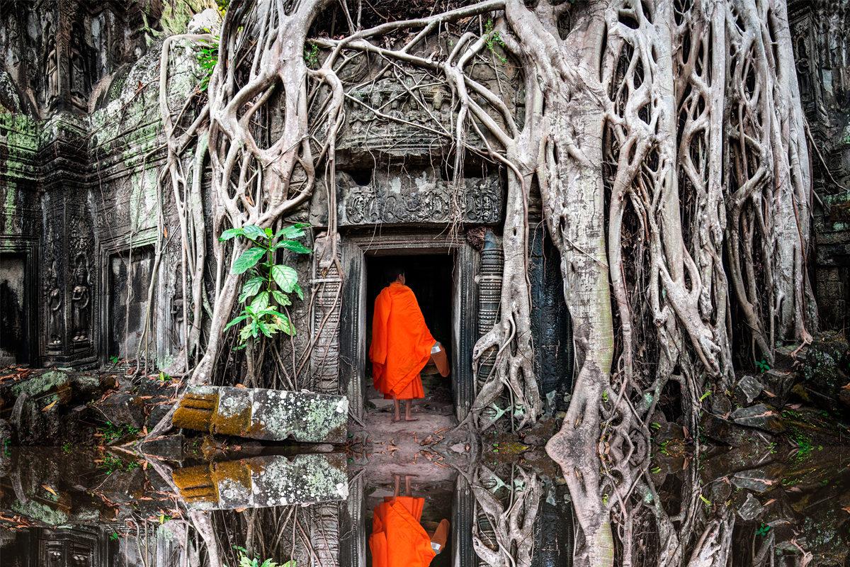 Камбоджа - путешествие во времени