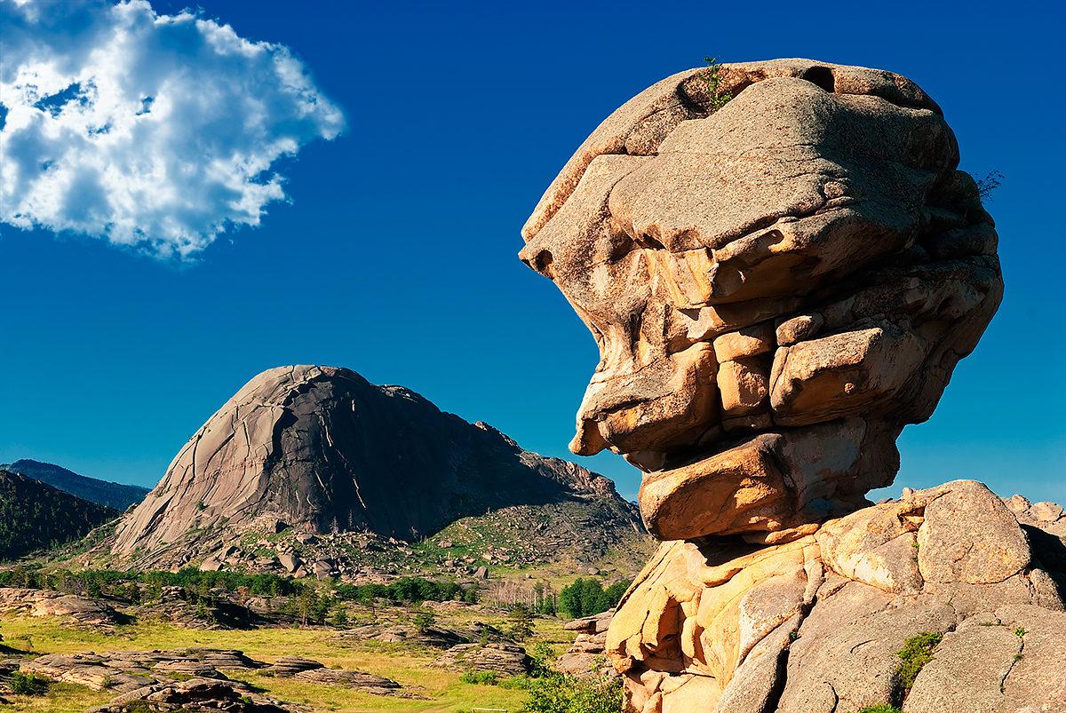 Легендарная голова Бабы Яги. Национальный парк