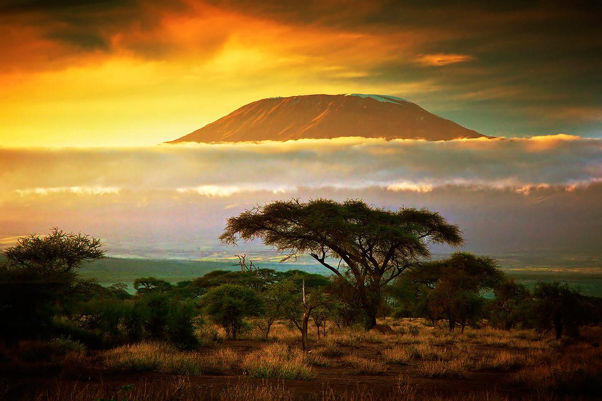 Пейзажи Кении