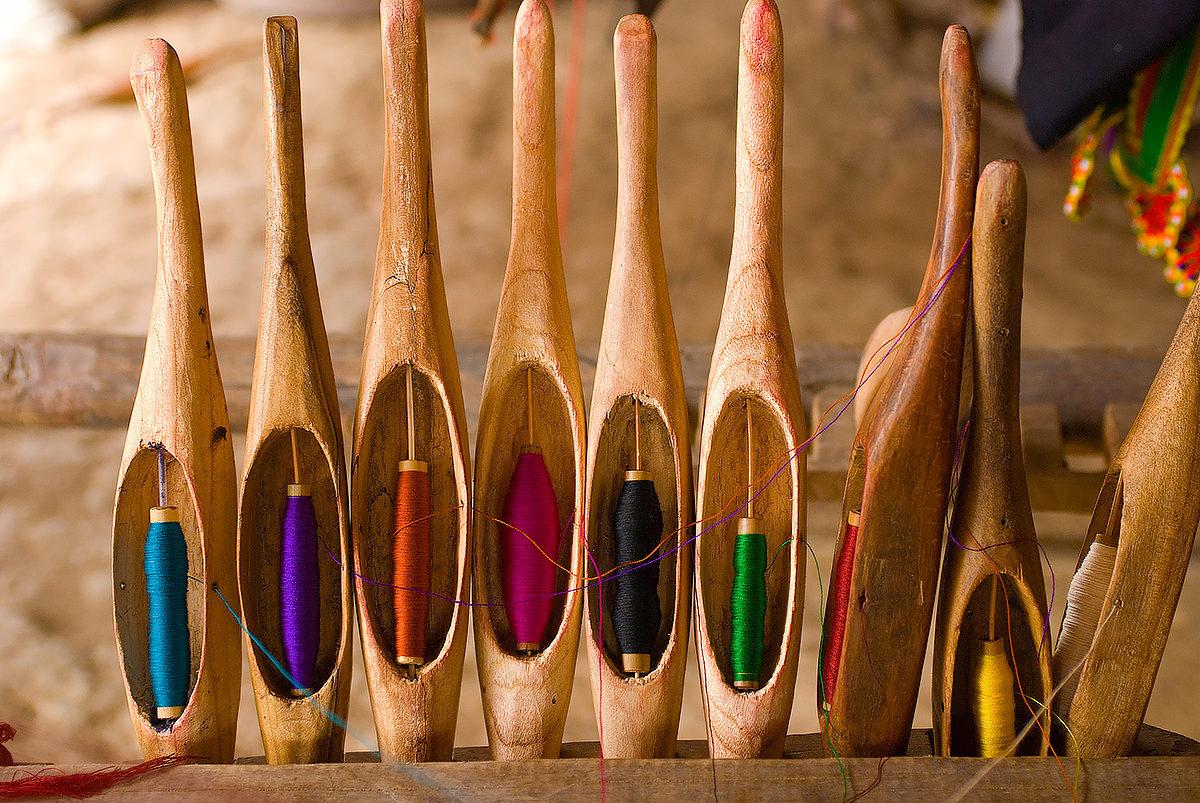 Нитки для ручного шитья, Лаос