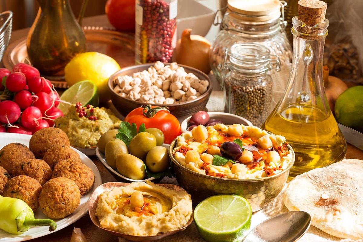 Хумус и фалафель