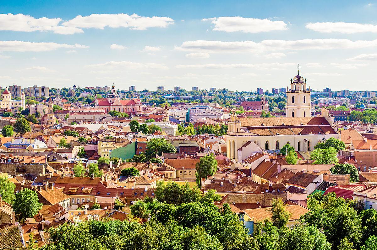 Вильнюс, городской пейзаж