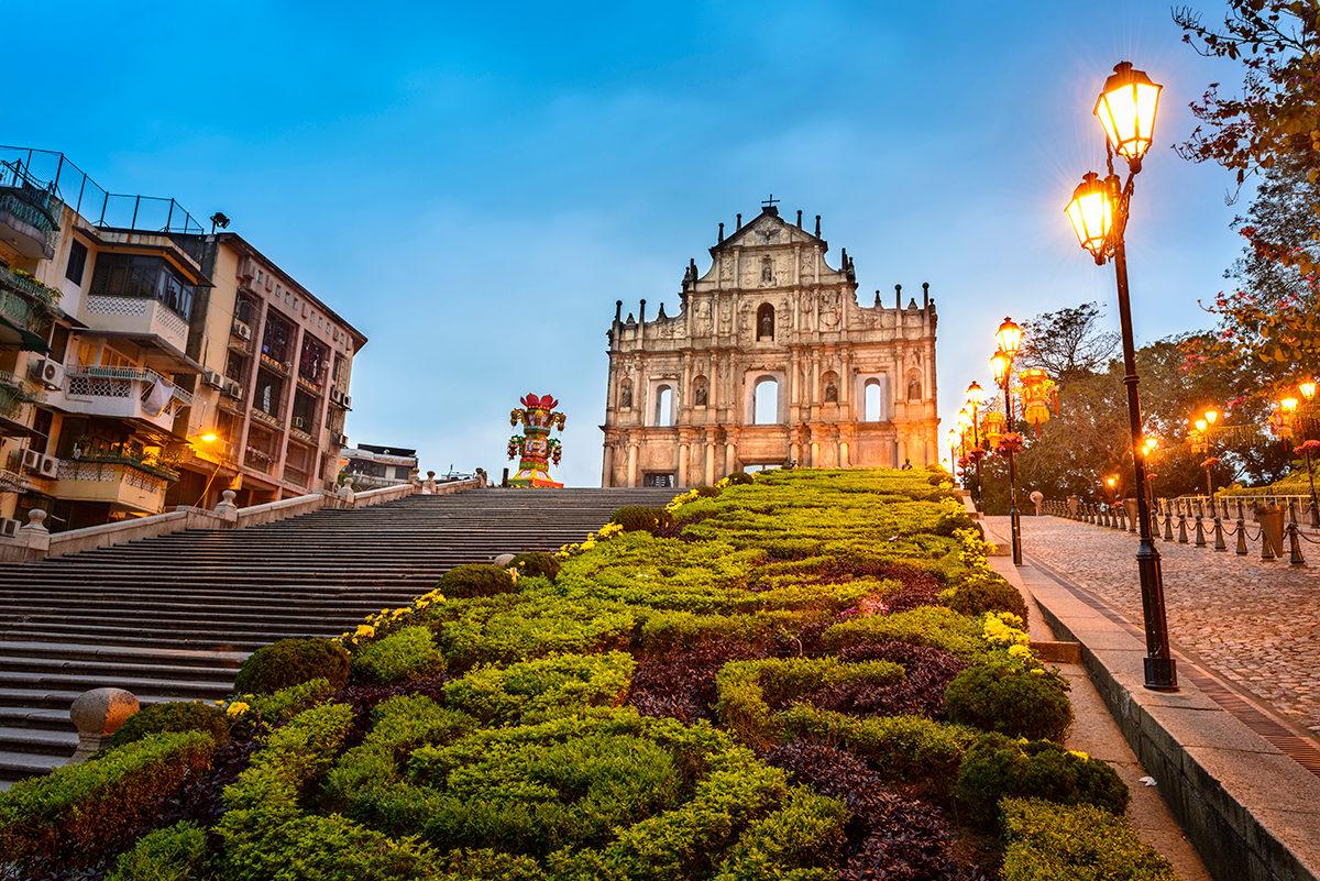 Фасад церкви Св.Павла, Макао