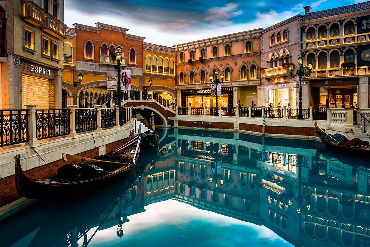 Венецианский отель, Макао