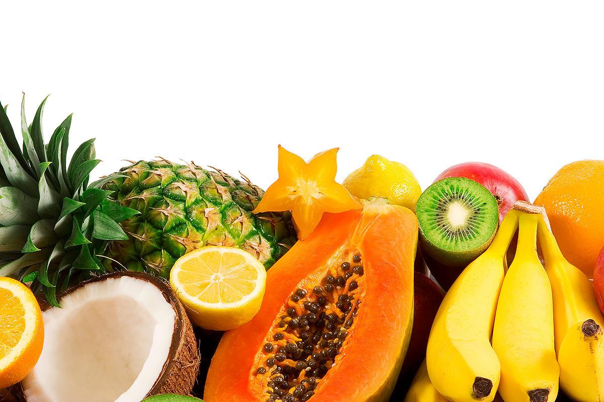 Разнообразие экзотических фруктов