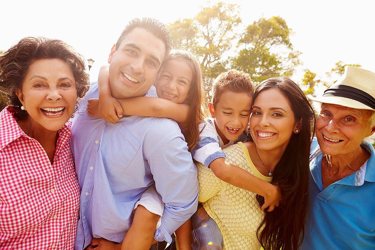 В кругу всей семьи
