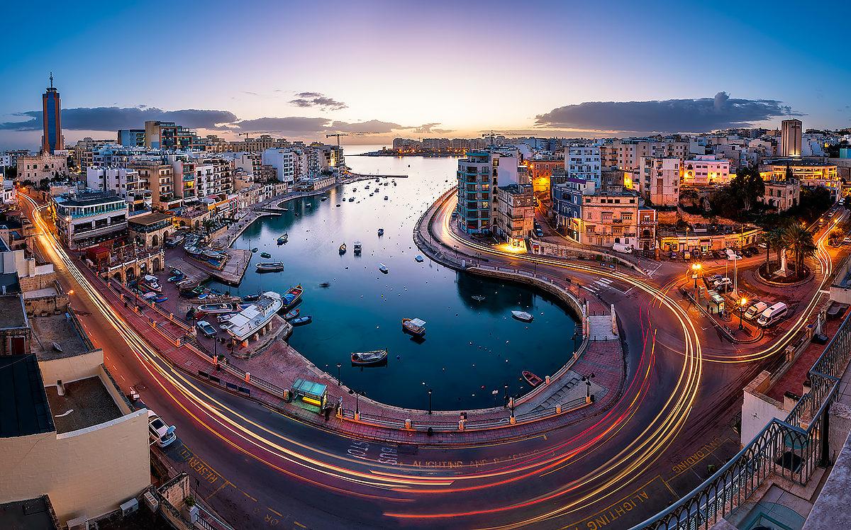 Городской пейзаж, Мальта