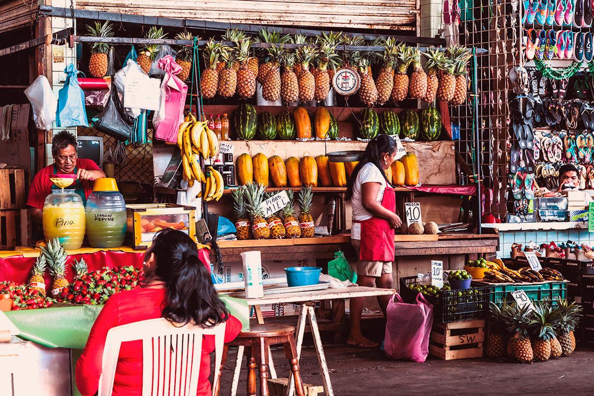 Рыночная лавка, Акапулько