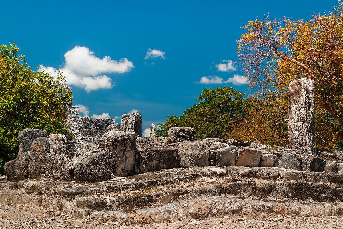 Руины, Древний город майя Эль-Меко