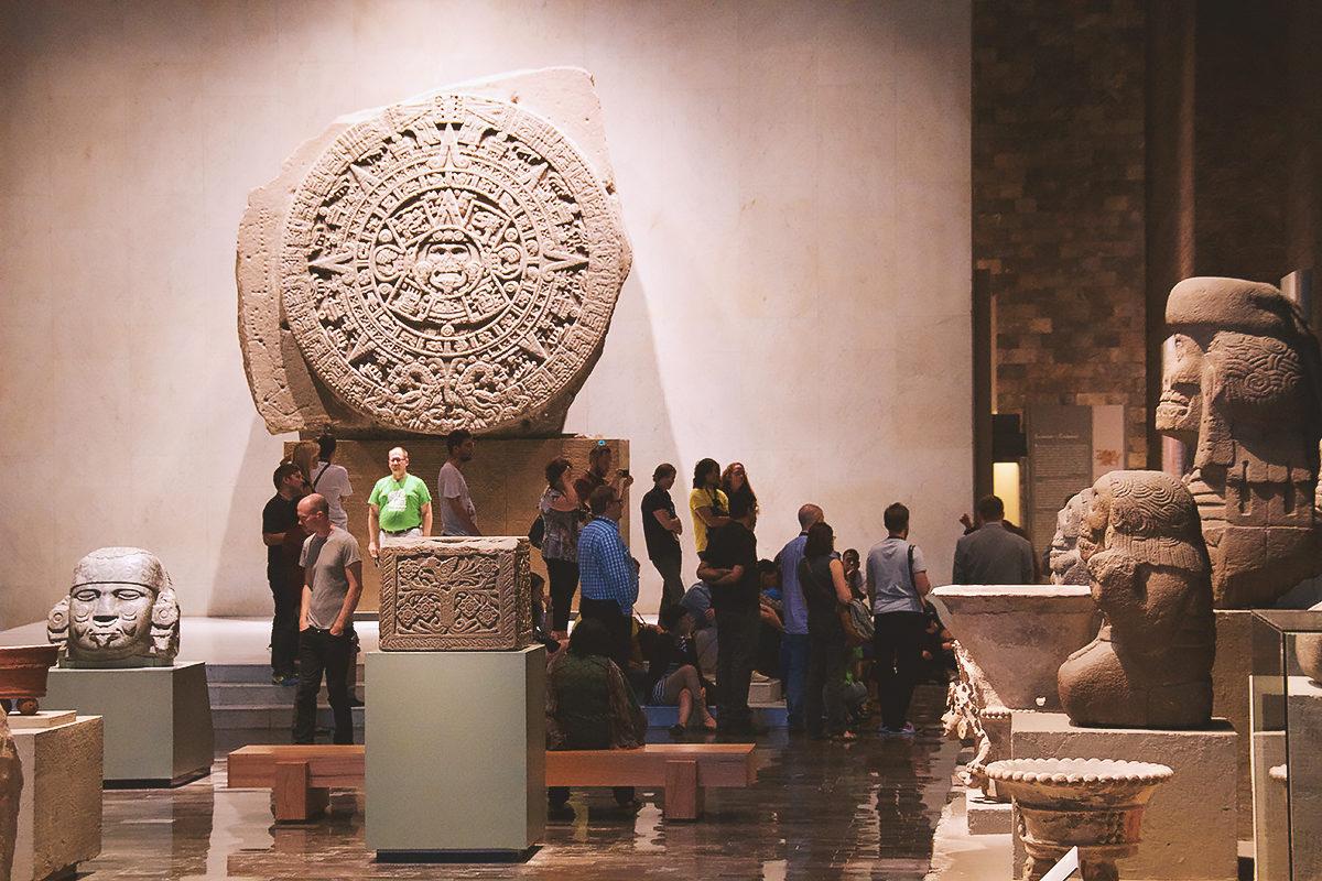 Камень солнца, Национальный музей антропологии
