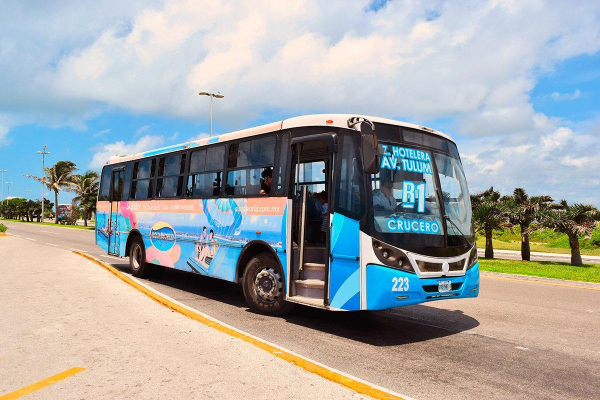Автобус, Канкун