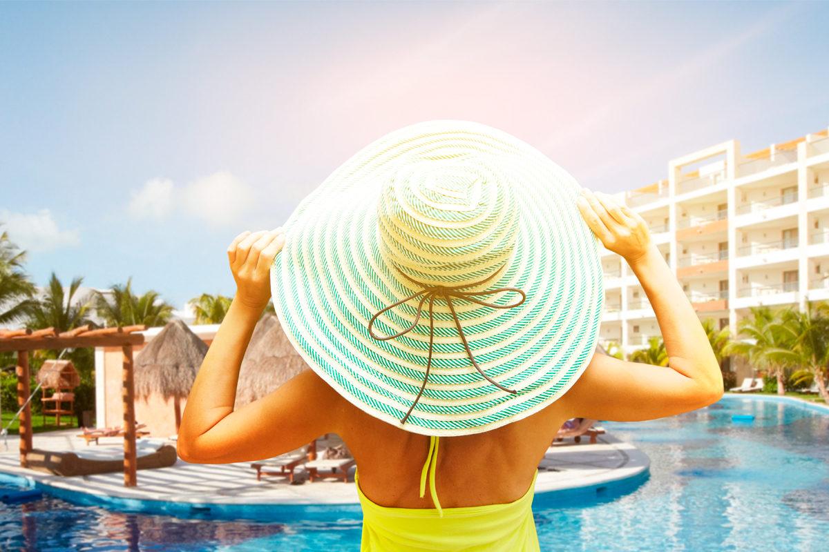 Обязательная программа в отеле-принять солнечные ванны