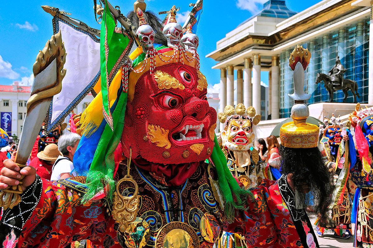 Фестиваль монгольской культуры в Улан-Баторе