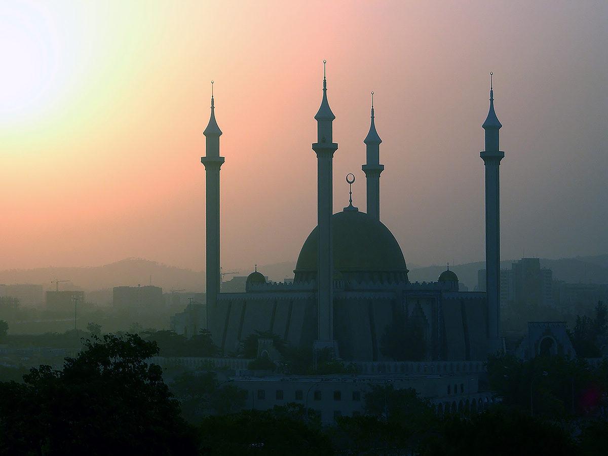 Мечеть в Абудже, Нигерия