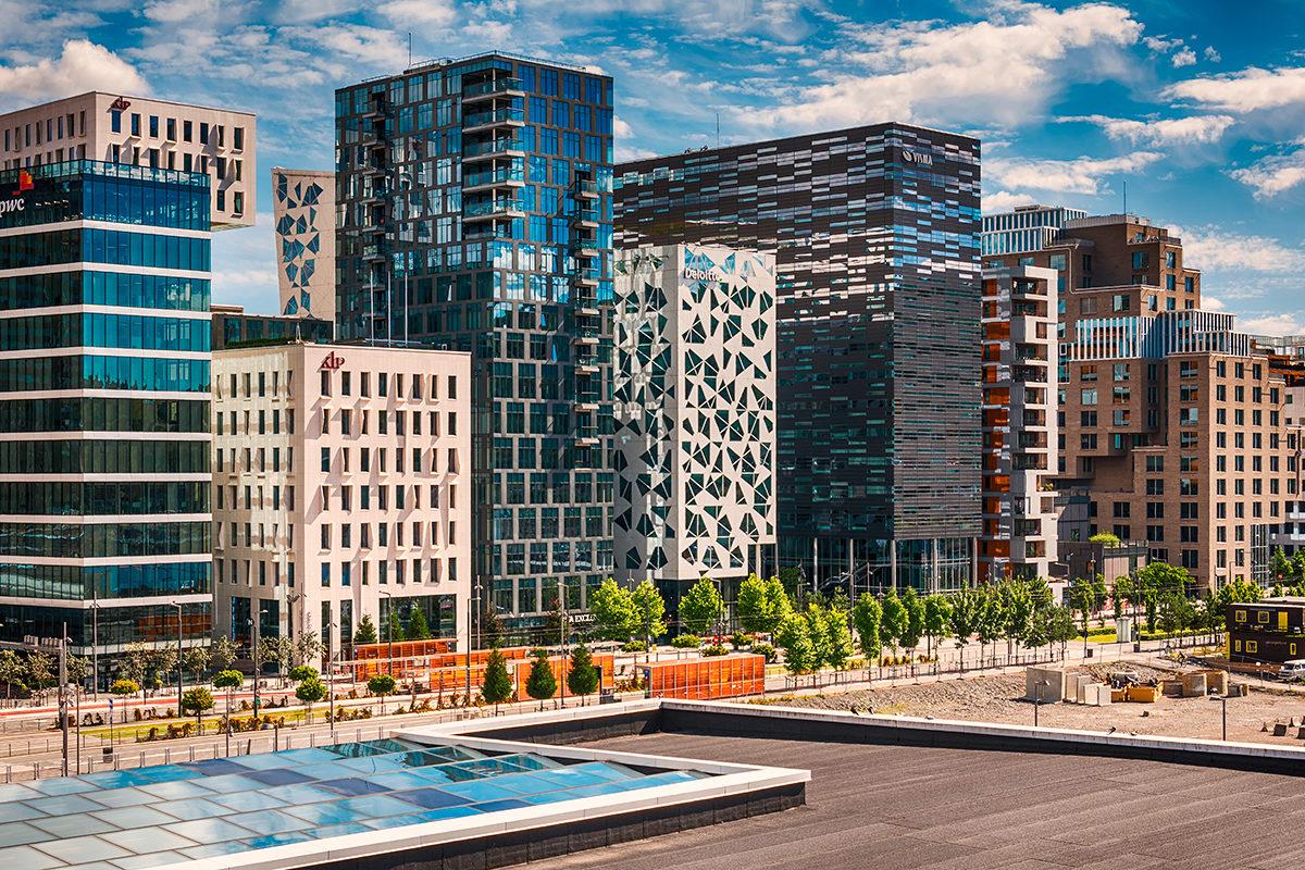 Современная архитектура Осло