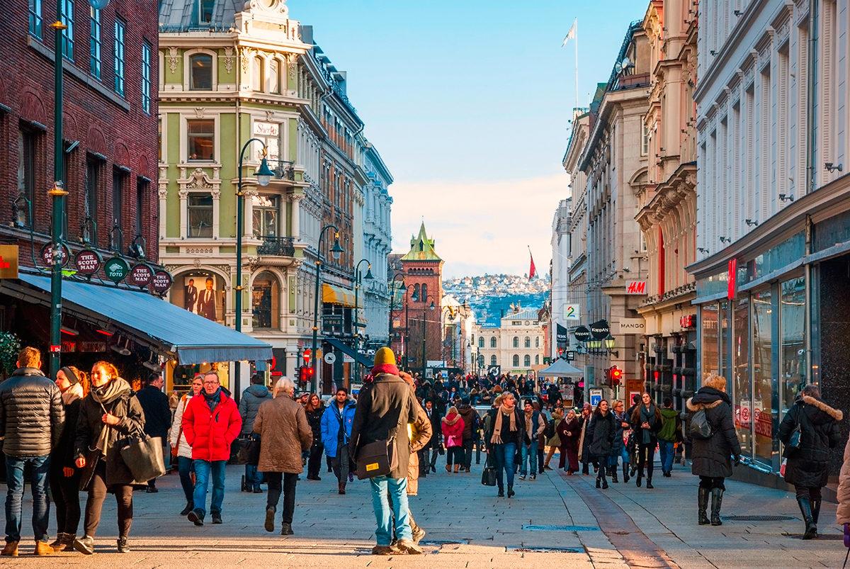 Осло в январе