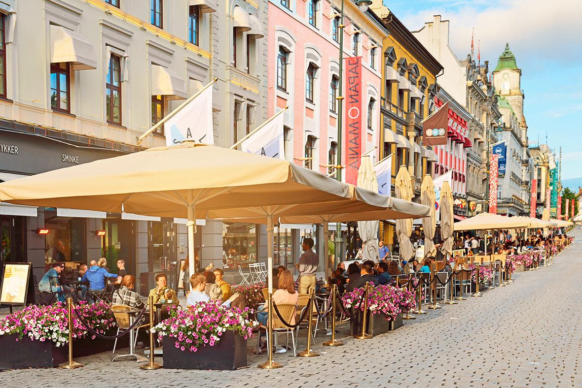 Уличный ресторанчик, Осло