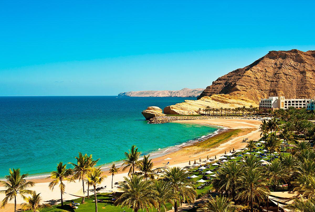 Пляжи Омана