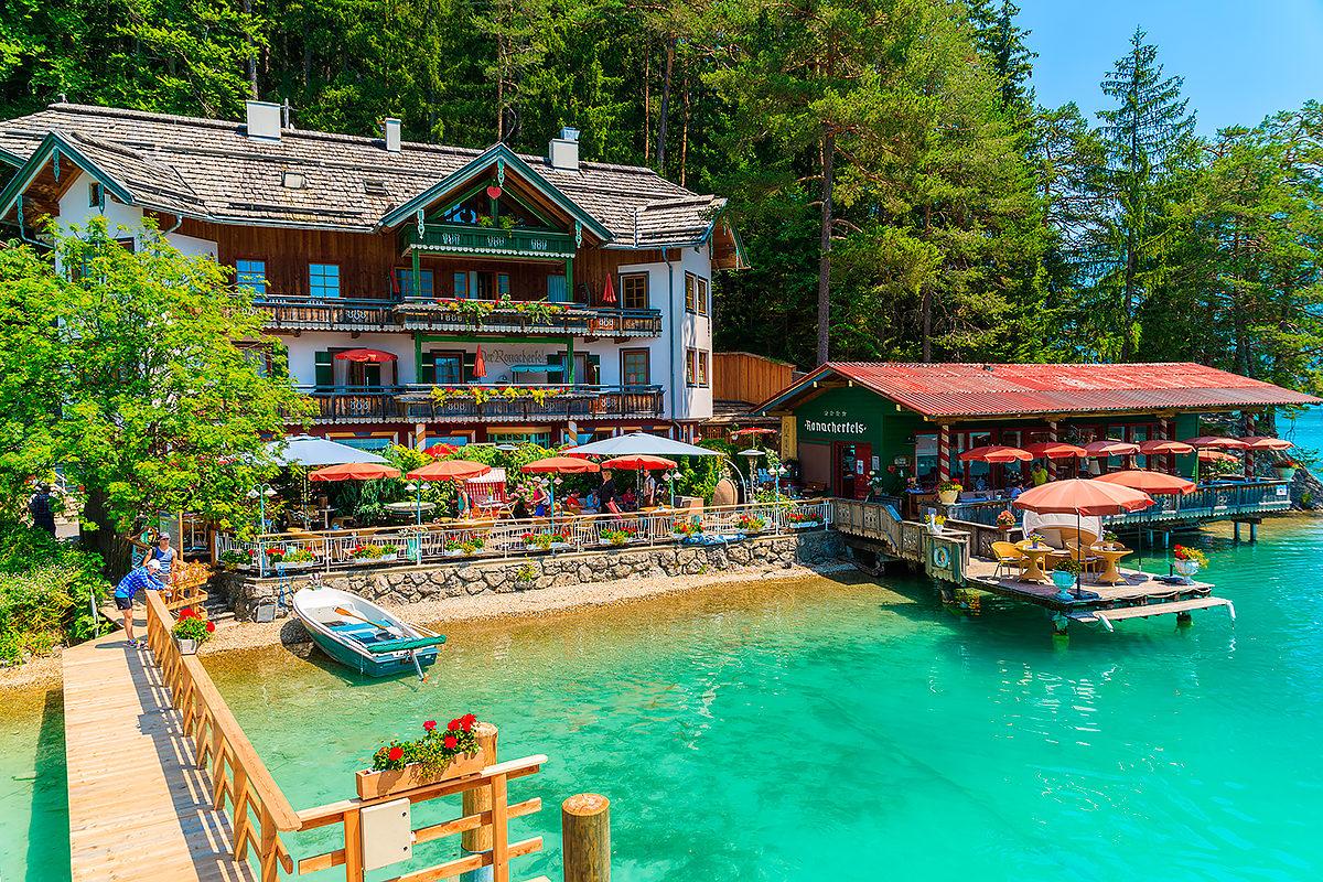 Гостевой дом на берегу Вайсензее, Австрия