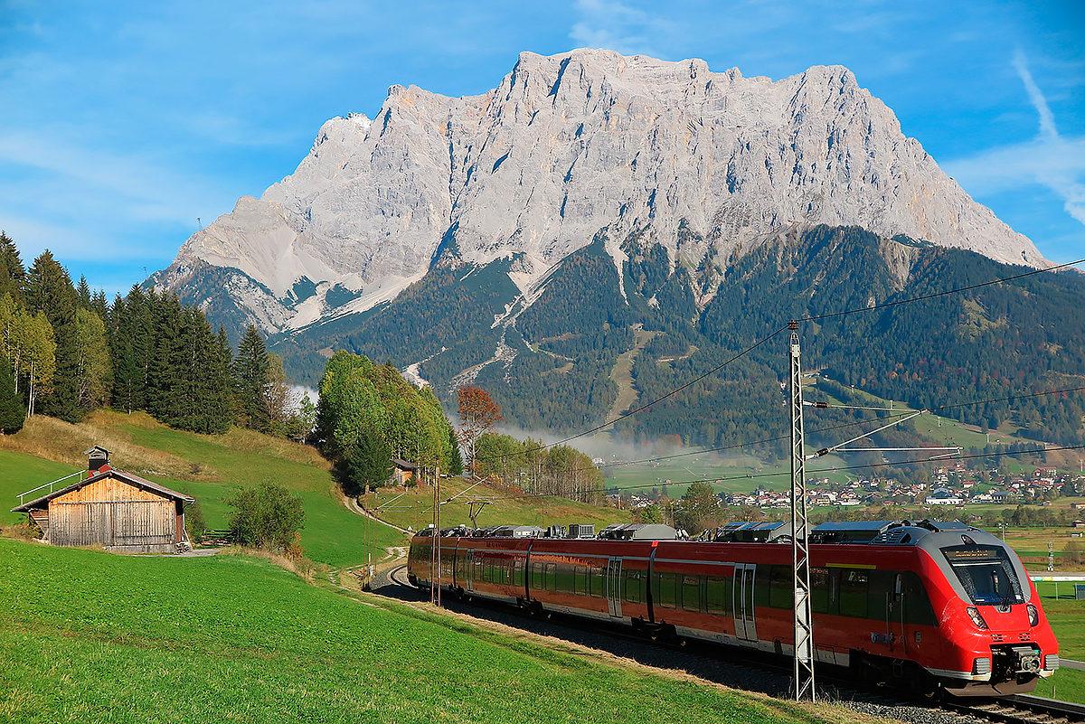 По Австрии на поезде