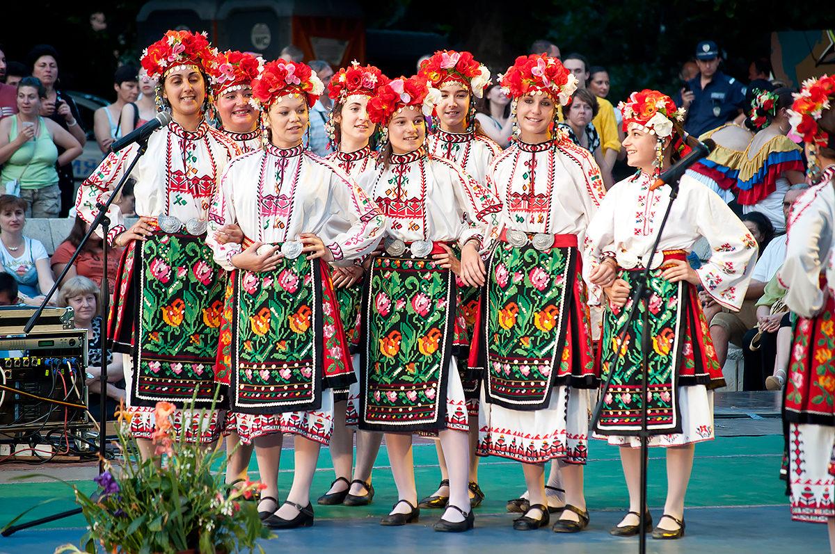 Болгарский фестиваль фолклора