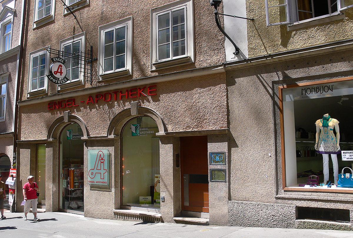 Ангельская аптека, Зальцбург