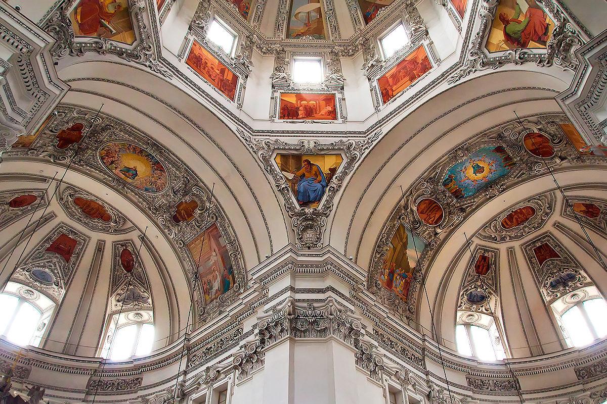 Свод Бенедиктинского аббатства Святого Петра