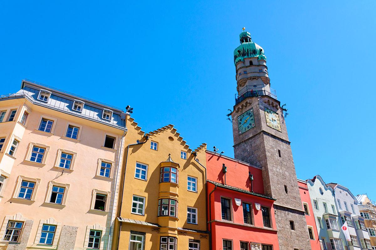 Городская башня, Инсбрук