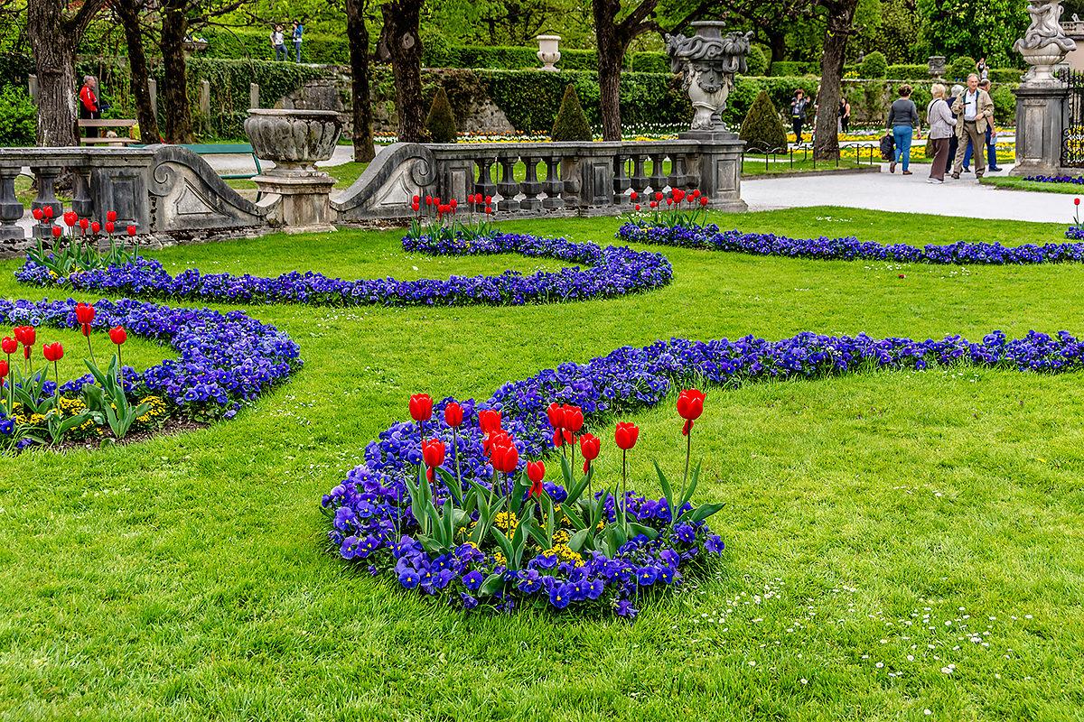 В саду замка Мирабель