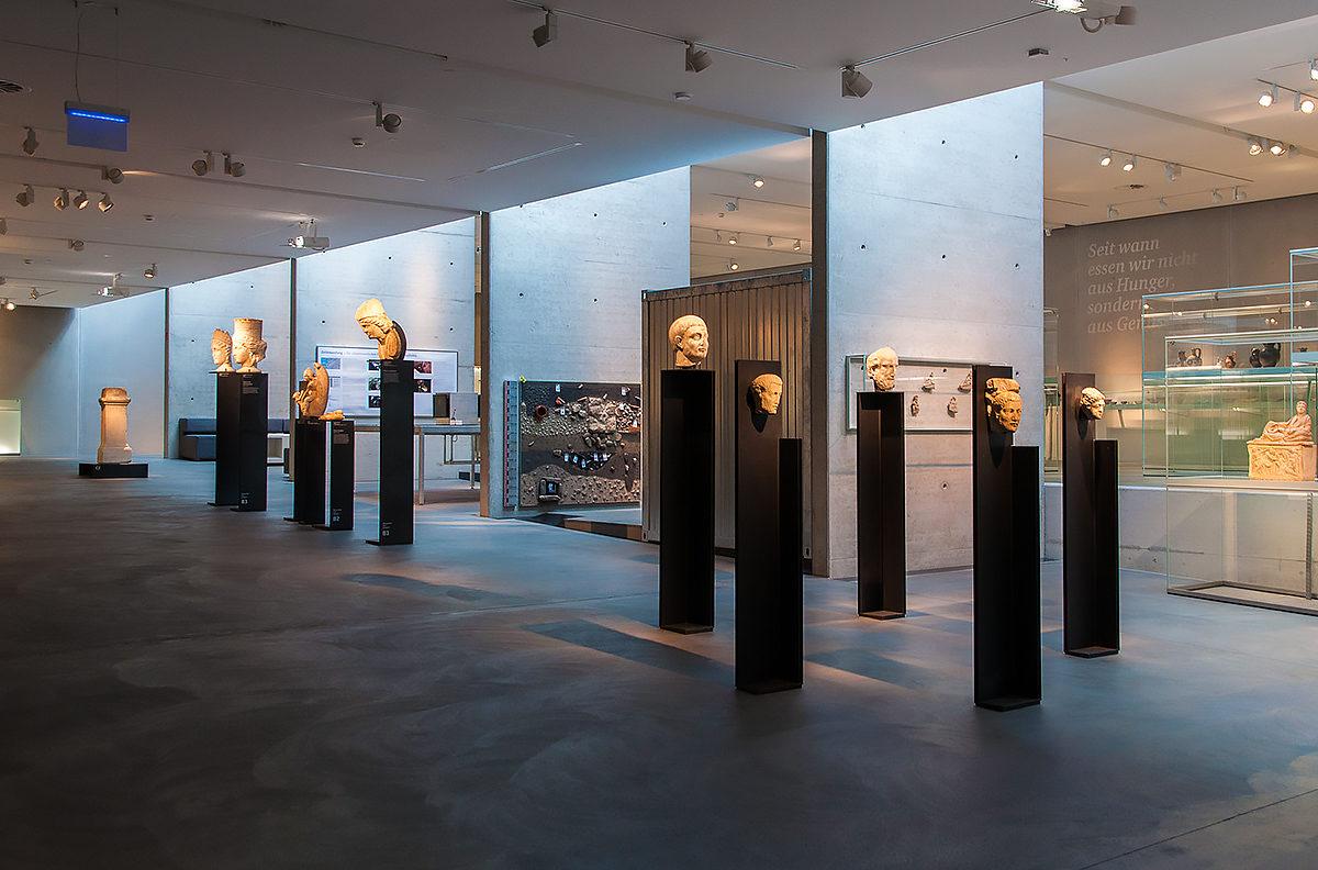 В археологическом музее