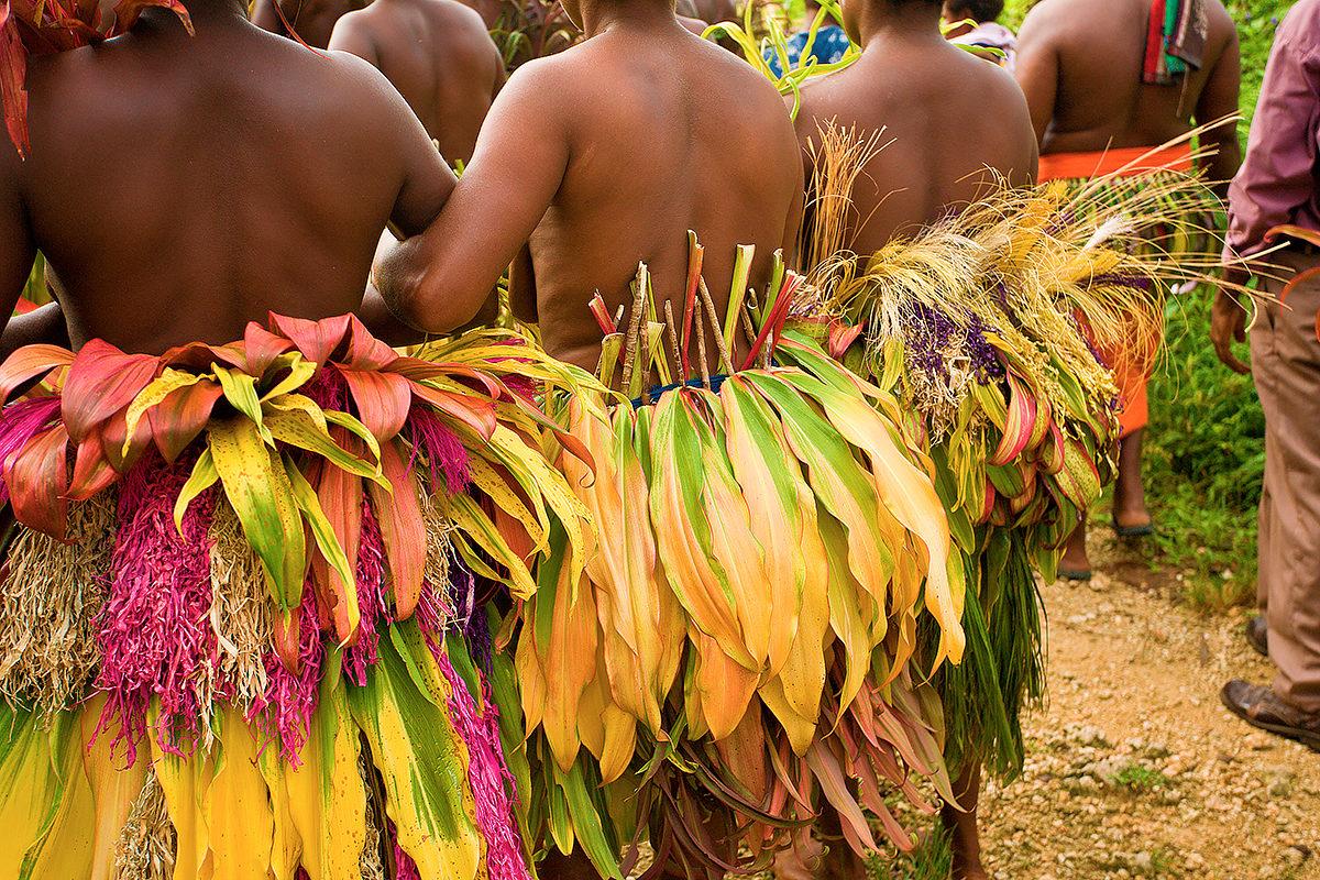 Наряд папуаса