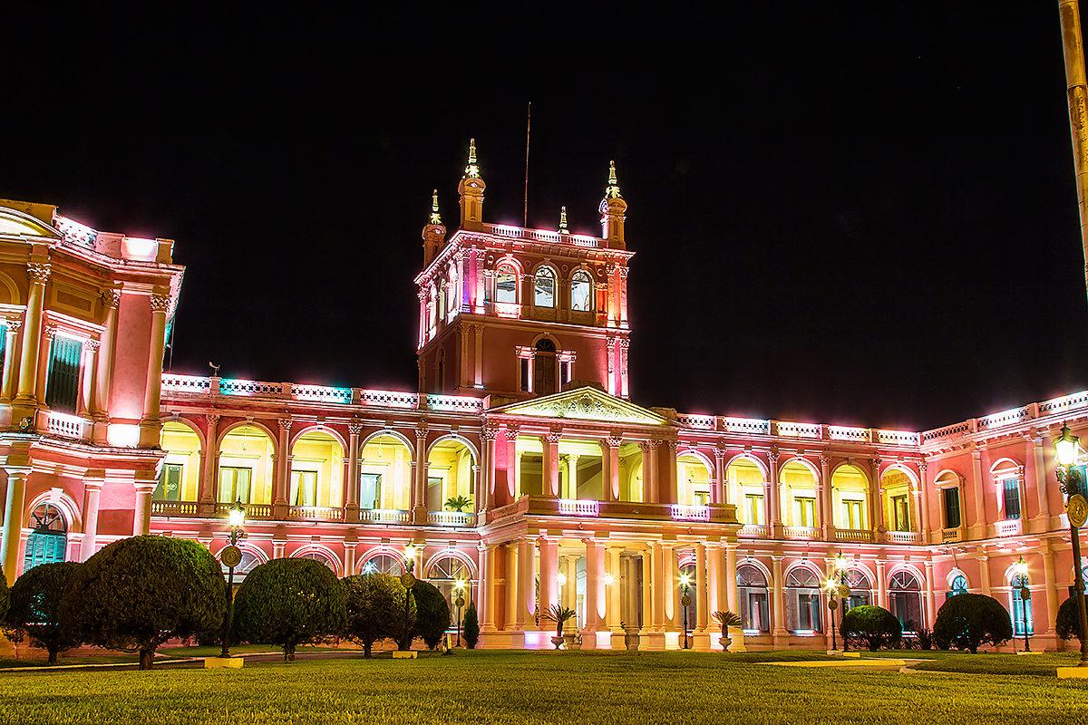 Президентский дворец Лопес, Парагвай