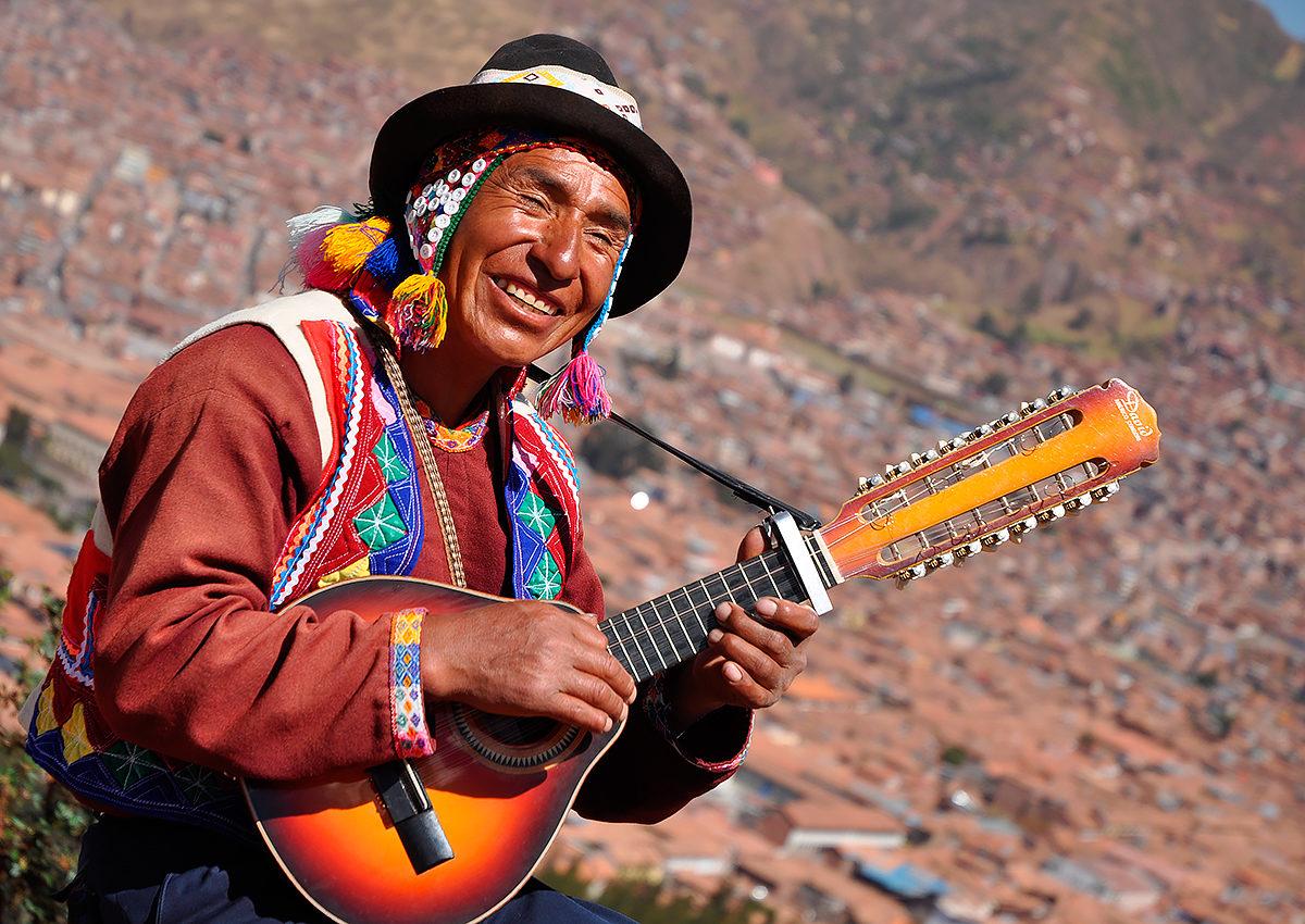 Представитель народа кечуа