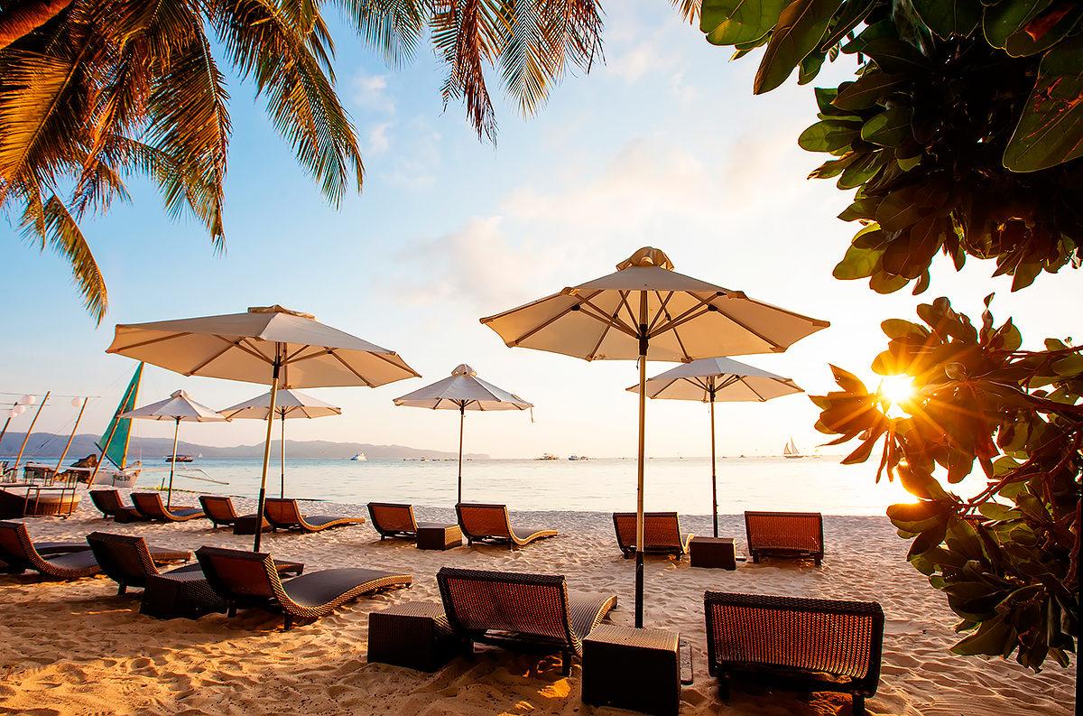 Гостеприимный пляж круглый год, Филиппины