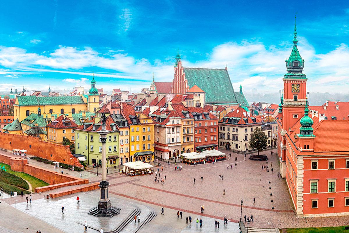 Восстановленный облик Варшавы